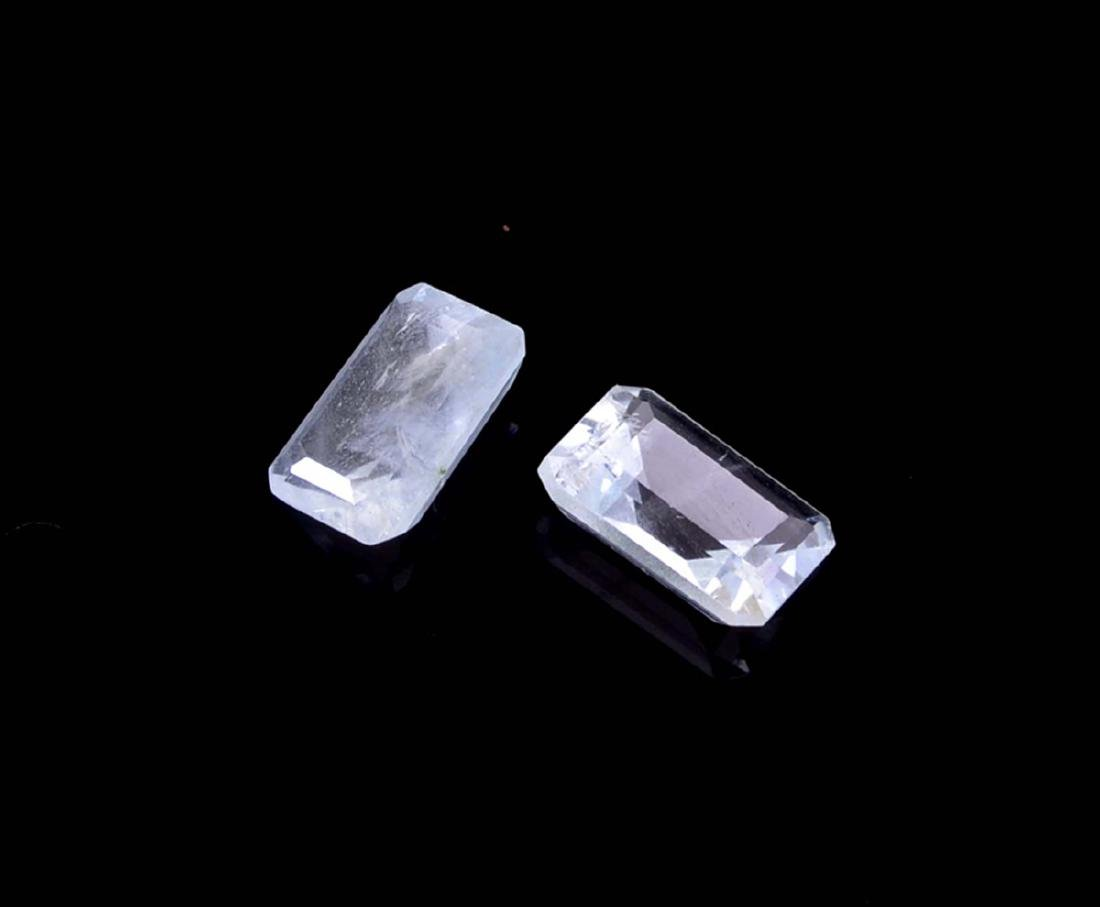 APP: 1k 2.94CT Rectangular Step Cut Natural Aquamarine