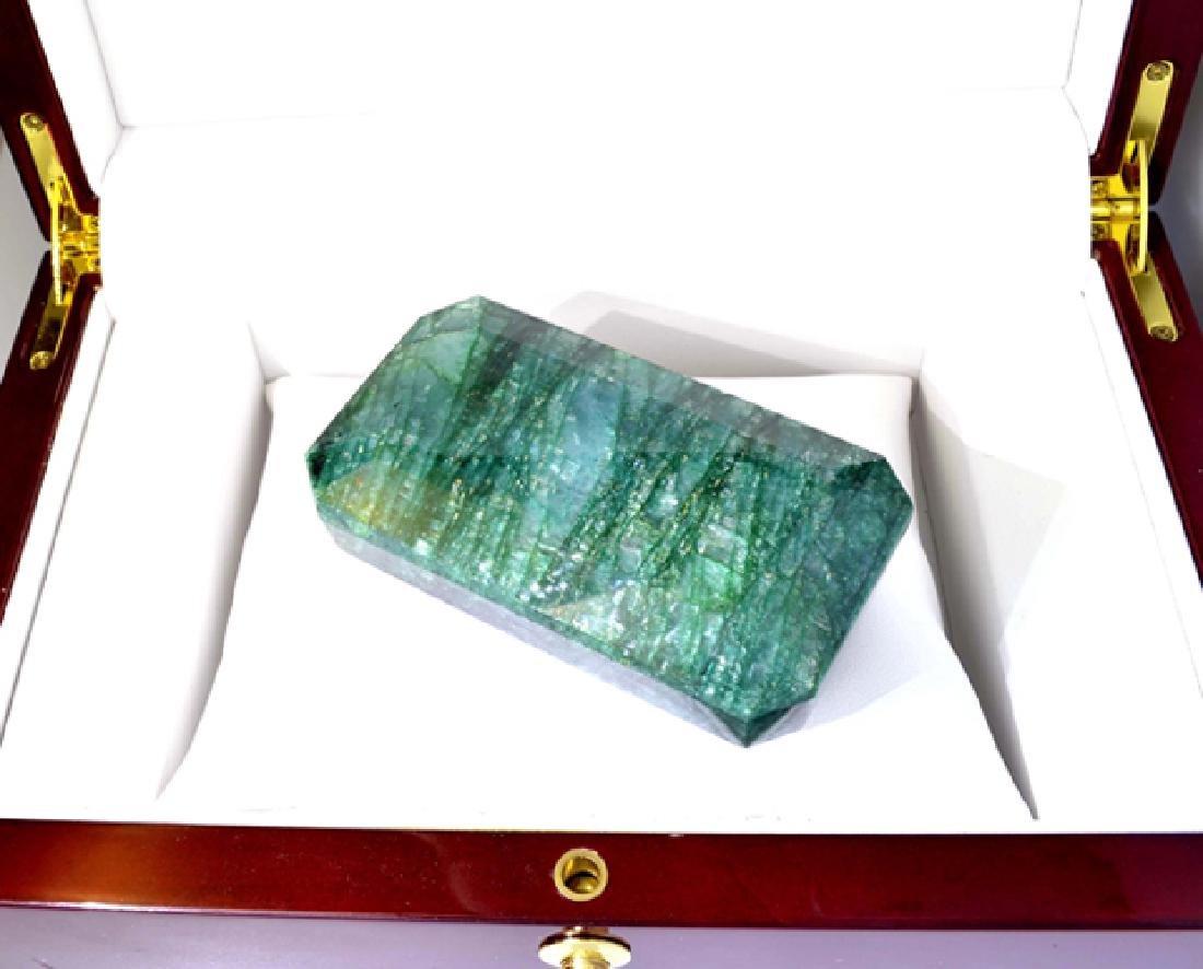 APP: 8.8k 978.05CT Emerald Cut Green Beryl Emerald