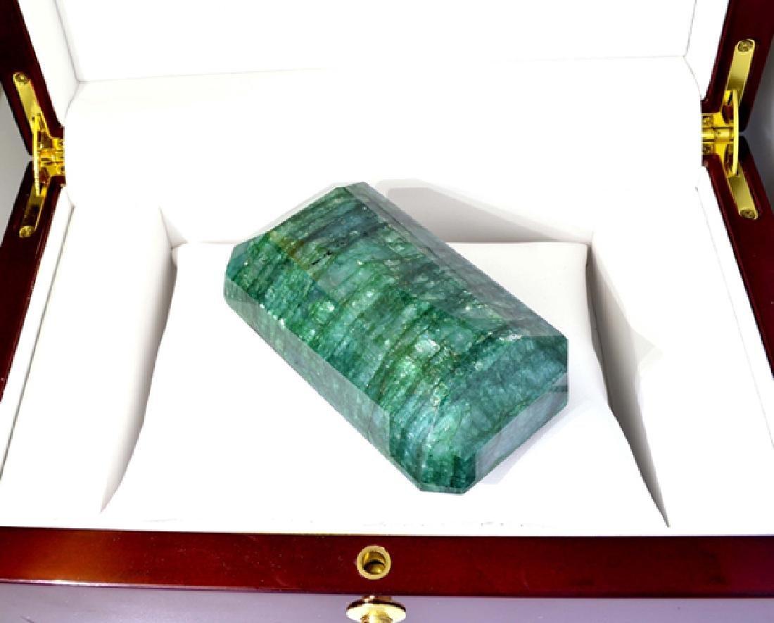 APP: 8.8k 978.05CT Emerald Cut Green Beryl Emerald - 2