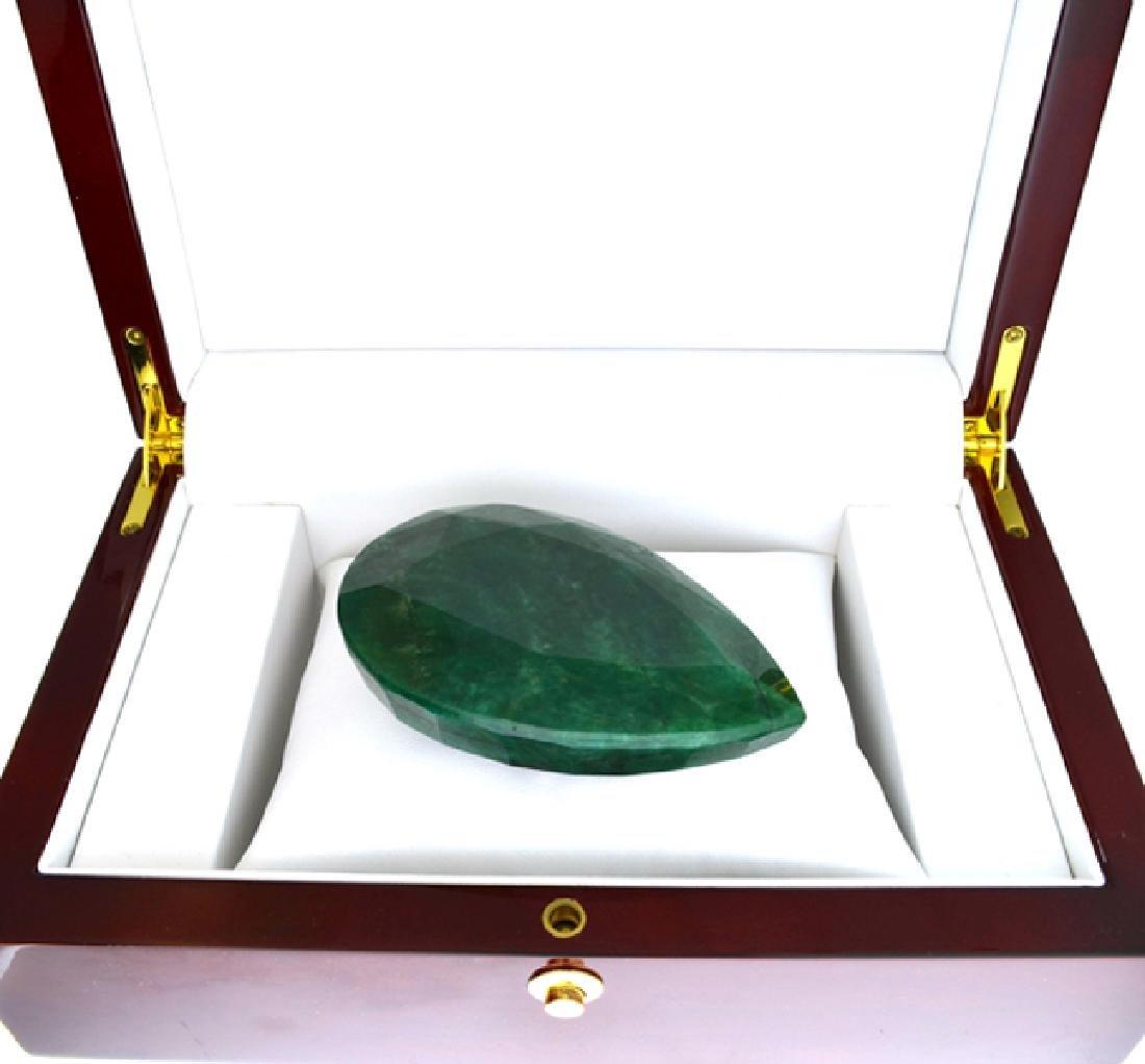 APP: 7.8k 976.10CT Pear Cut Green Beryl Emerald