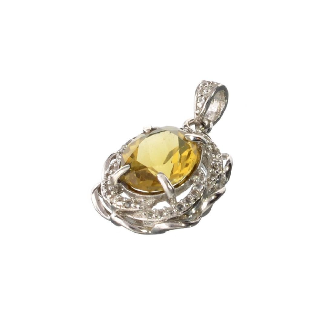 APP: 0.9k Fine Jewelry 3.00CT Oval Cut Citrine And