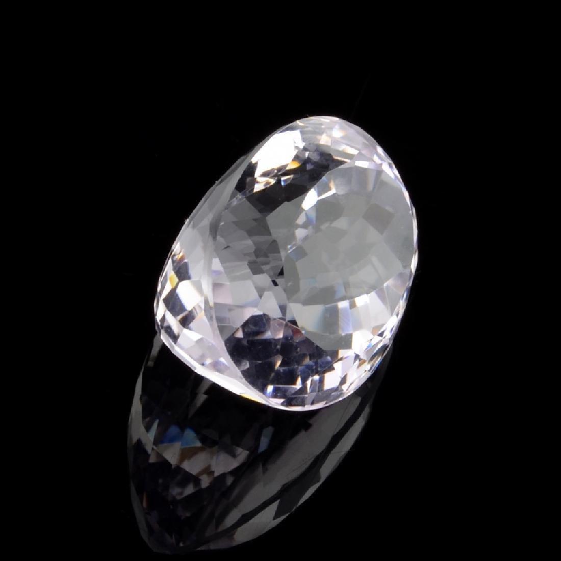 APP: 3.2k 27.50CT Oval Cut Amethyst Quartz Gemstone