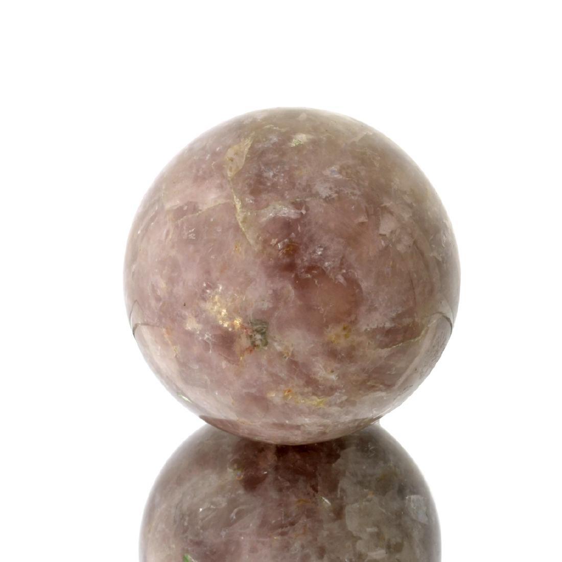 APP: 1.3k Rare 1,391.00CT Sphere Cut Purple Ice Rose