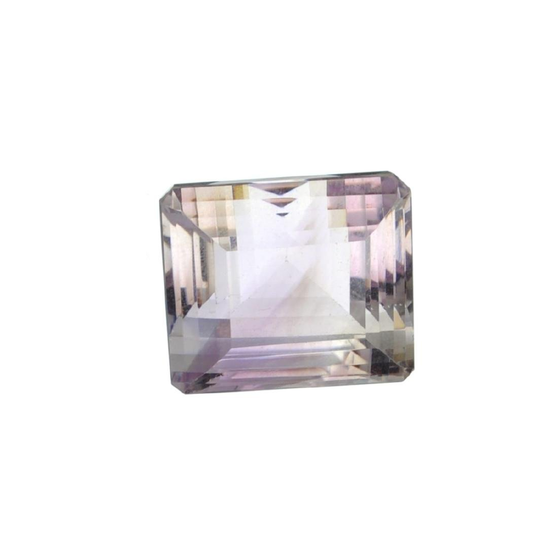 APP: 4.4k 54.50CT Emerald Cut Light Purple Amethyst