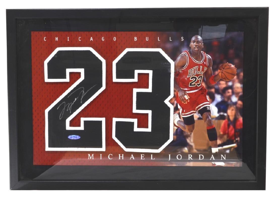 Rare Michael Jordan Signed Number Guaranteed Authenic