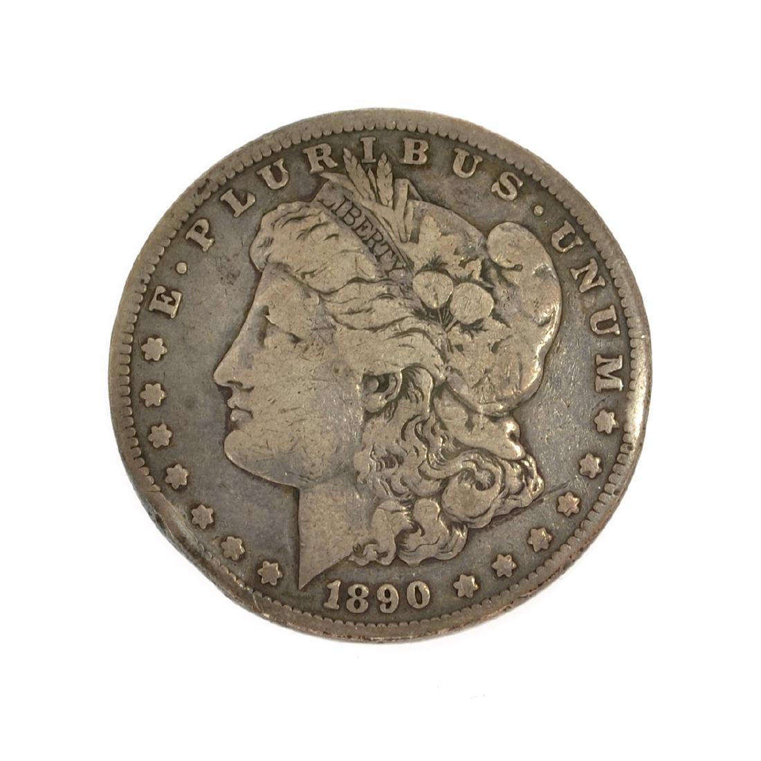 1890-CC Morgan Dollar Coin