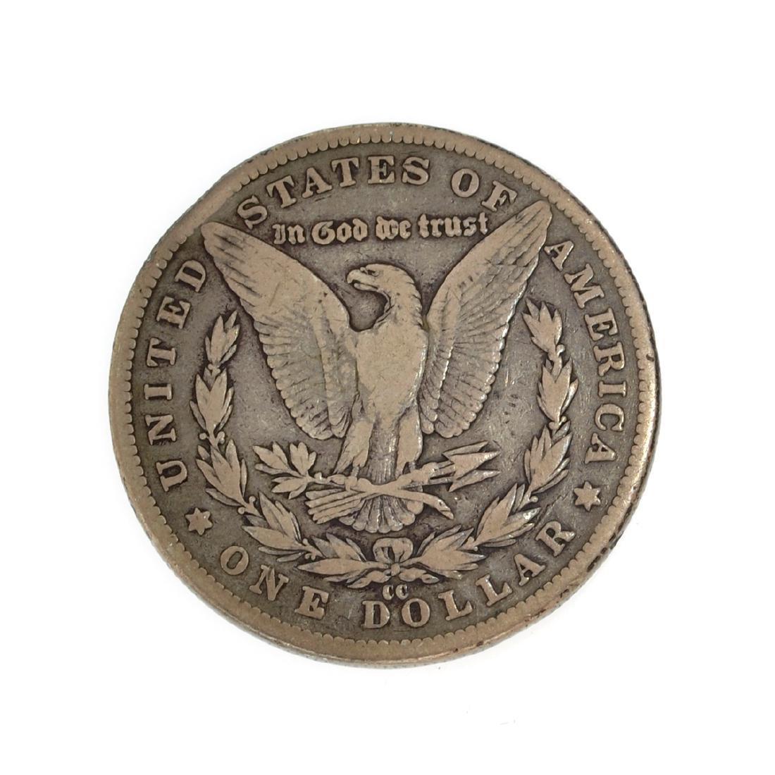 1890-CC Morgan Dollar Coin - 2