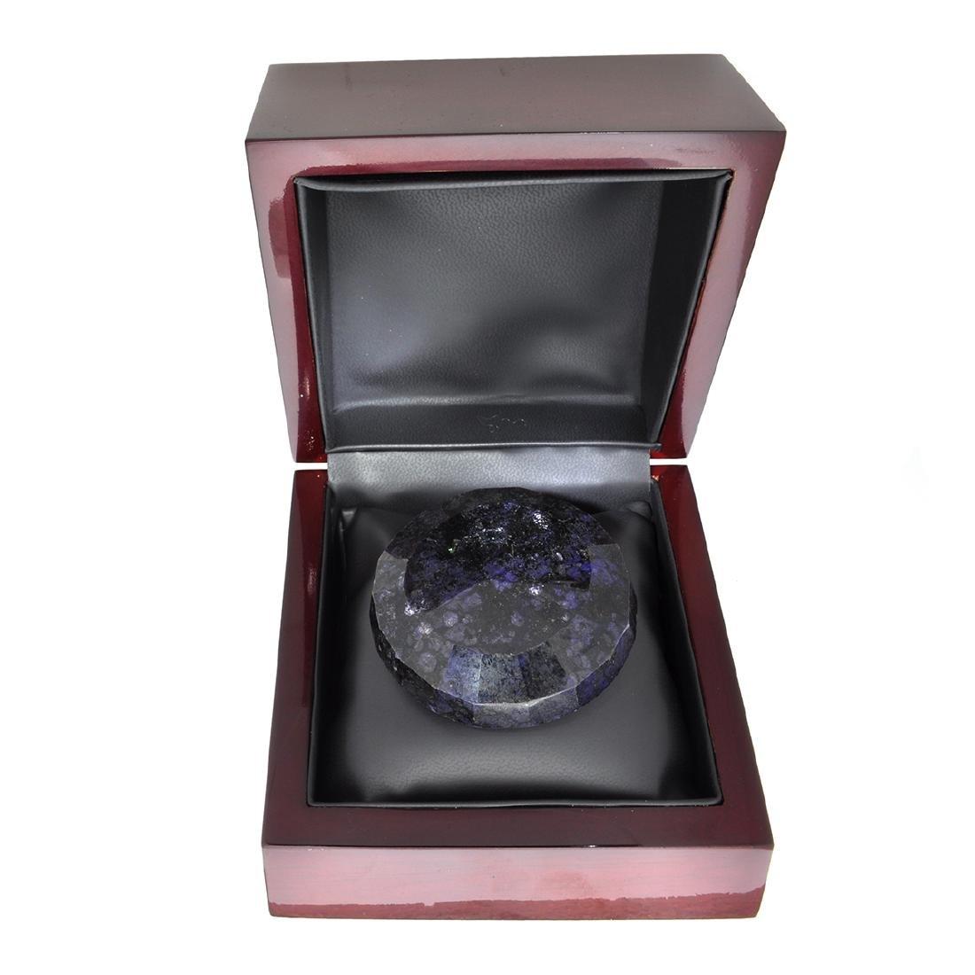 APP: 2.1k 821.60CT Round Cut Blue Sapphire Gemstone - 2