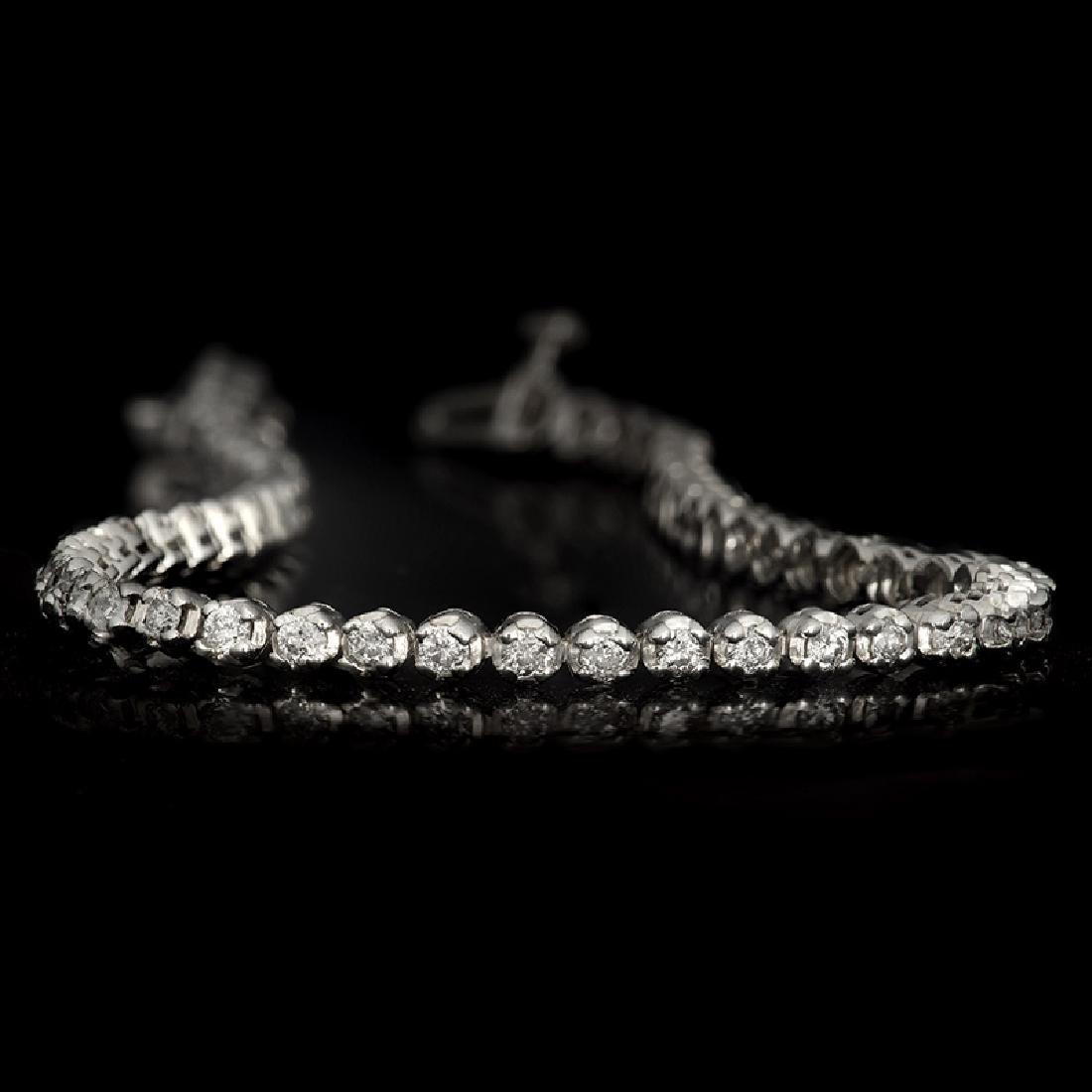APP: 5.5k *Fine Jewelry 14KT White Gold, 2.00CT Round