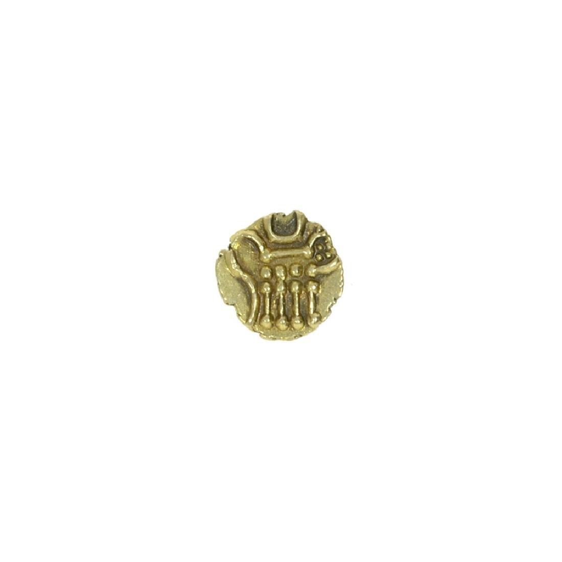 1760-1834 South India ''Vira Raya'' Fanam Coin - 2