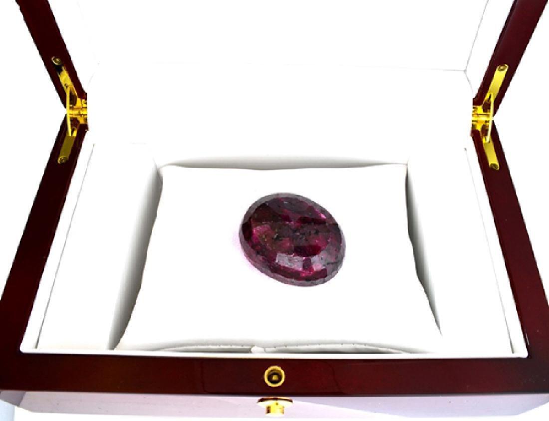 APP: 1k 314.40CT Oval Cut Ruby Gemstone - 2