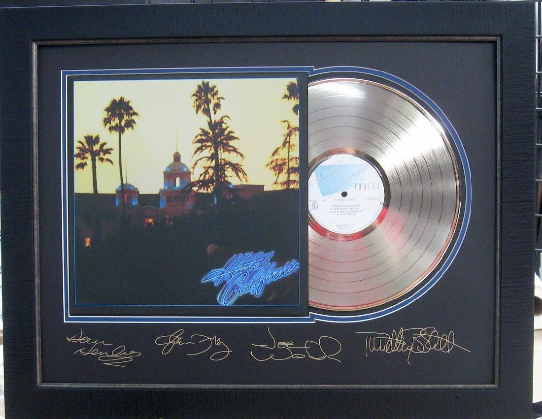 Eagles Engraved Gold Album