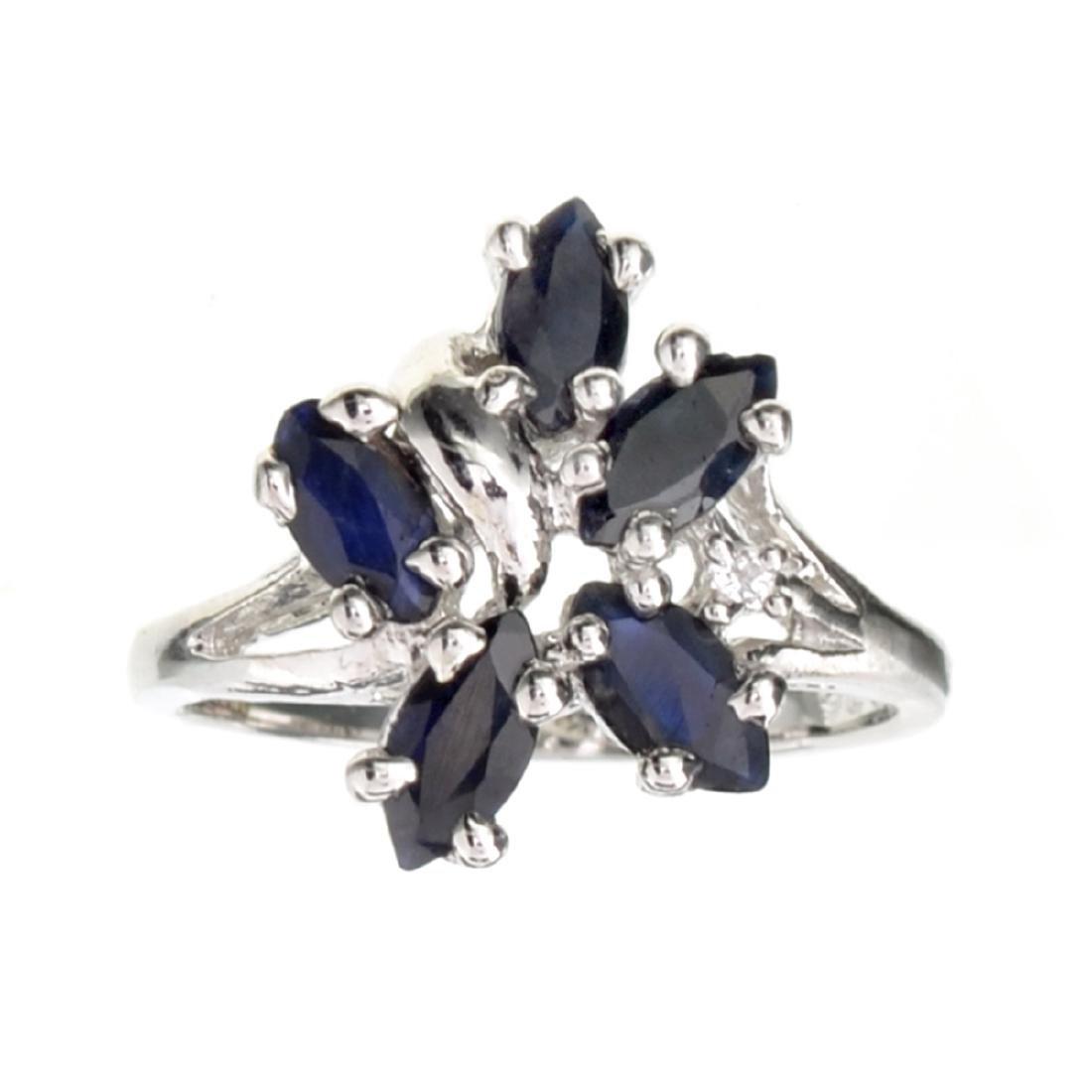 APP: 1.9k Fine Jewelry Designer Sebastian 1.50CT Blue