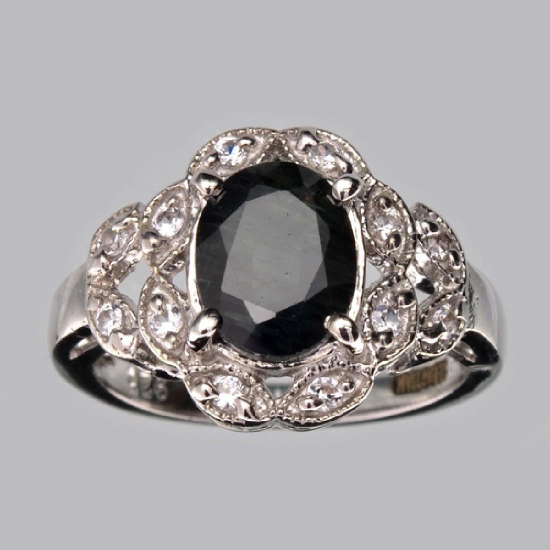 APP: 2.6k Fine Jewelry Designer Sebastian 2.40CT Blue