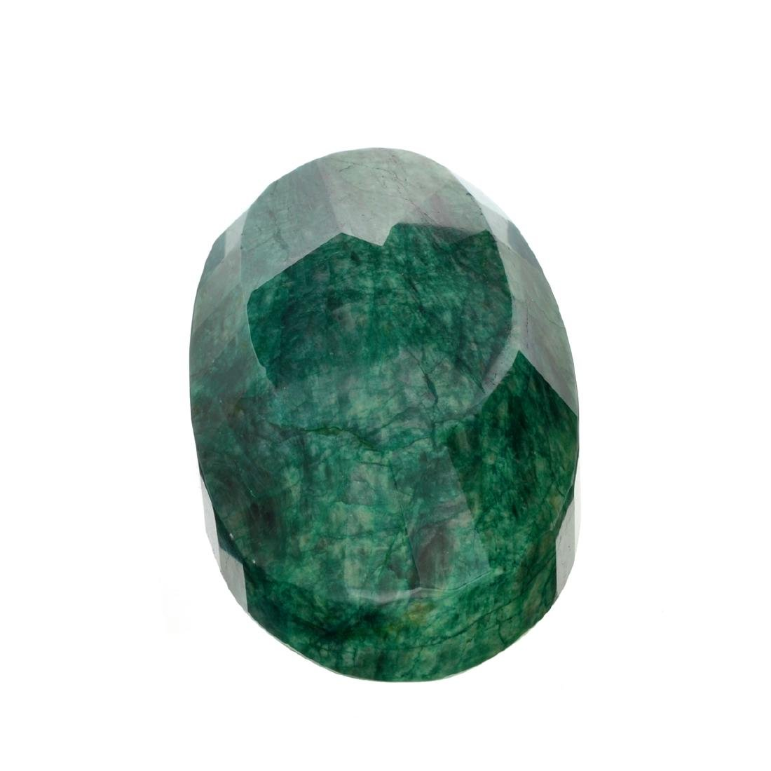 APP: 8.7k 2,183.50CT Oval Cut Green Beryl Emerald
