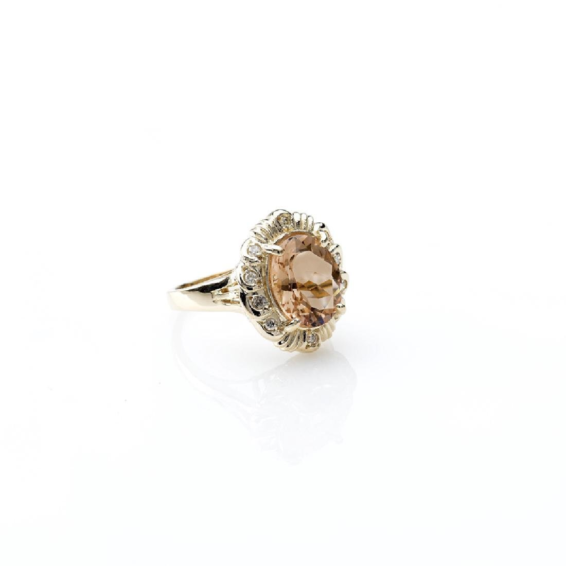 APP: 6.1k Fine Jewelry 14kt. Gold, 3.90CT Champagne