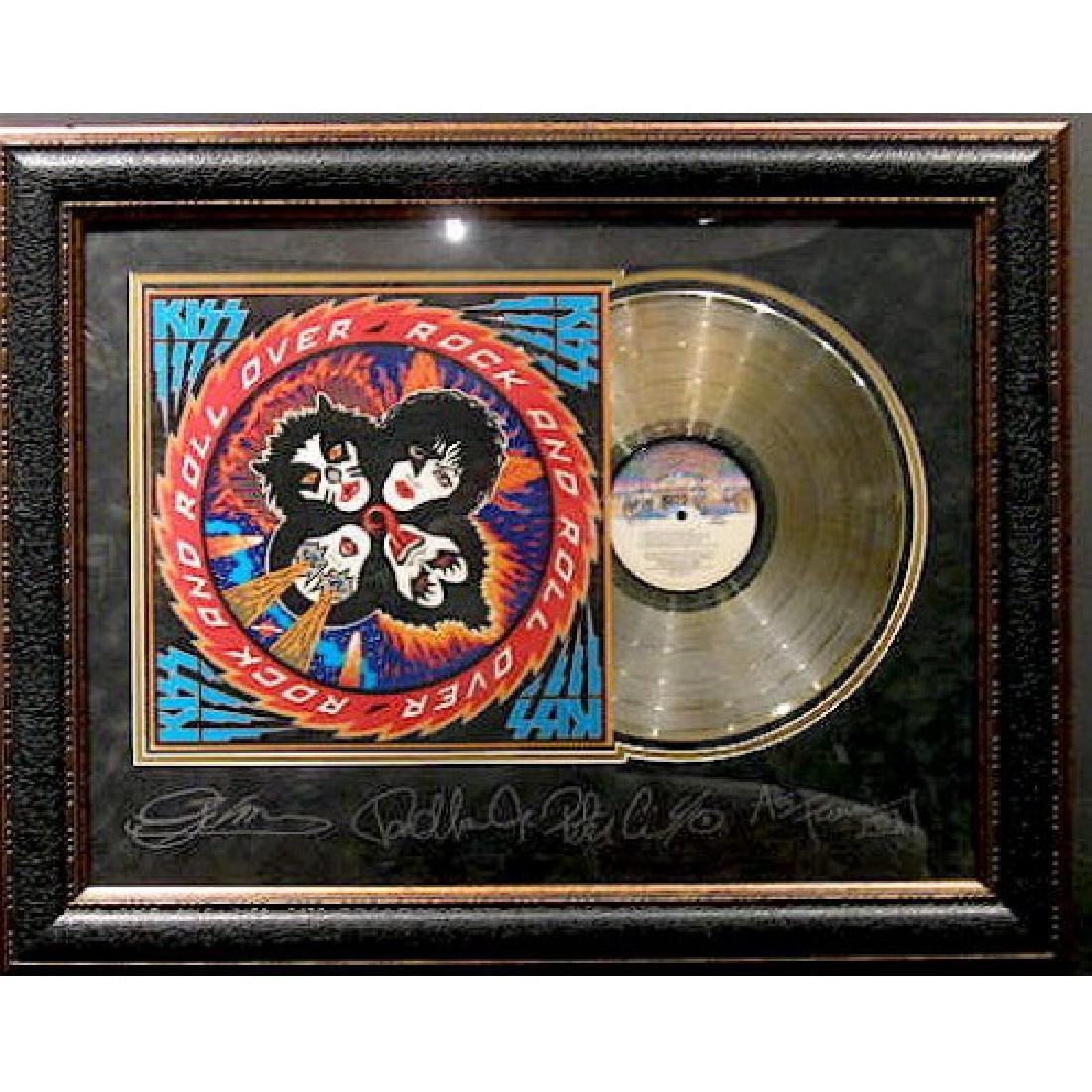 Kiss Engraved with Gold Album