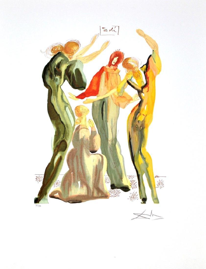 SALVADOR DALI (After) La Danse Print, 233 of 500