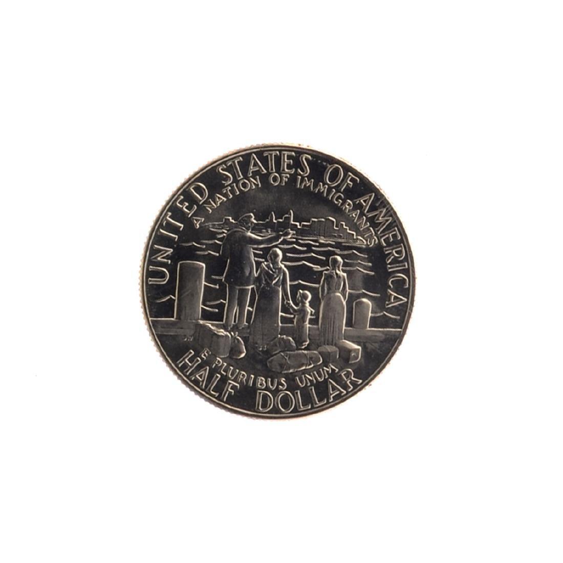 1986 Uncirculated Liberty Half Dollar Coin - 2