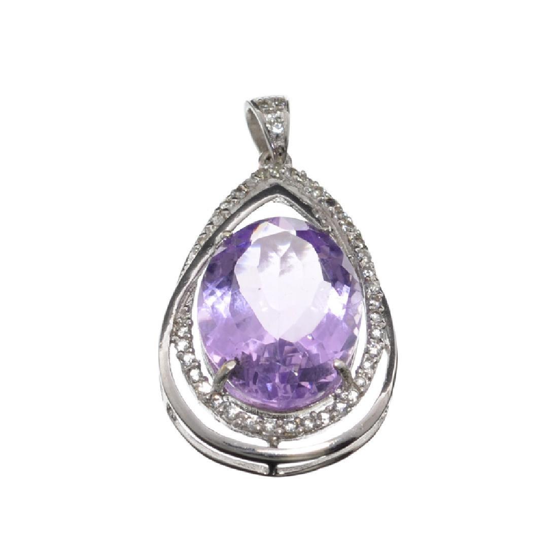APP: 1.2k Fine Jewelry 11.45CT Purple Amethyst And