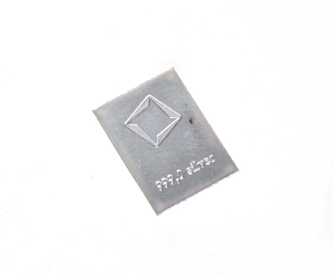 Valcambi Suisse 1g Silver Bar