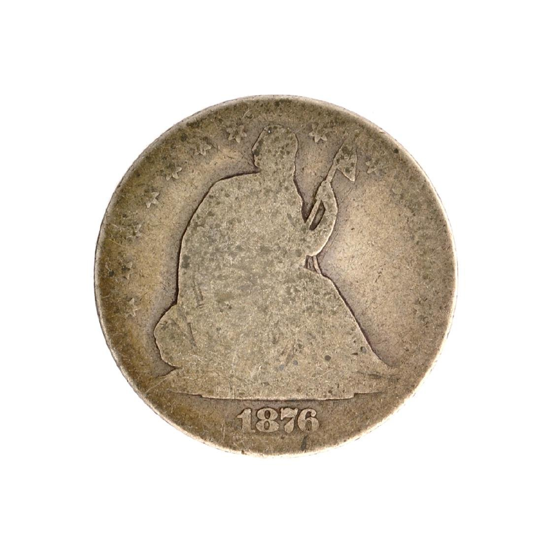 1876-S Liberty Seated Half Dollar Coin