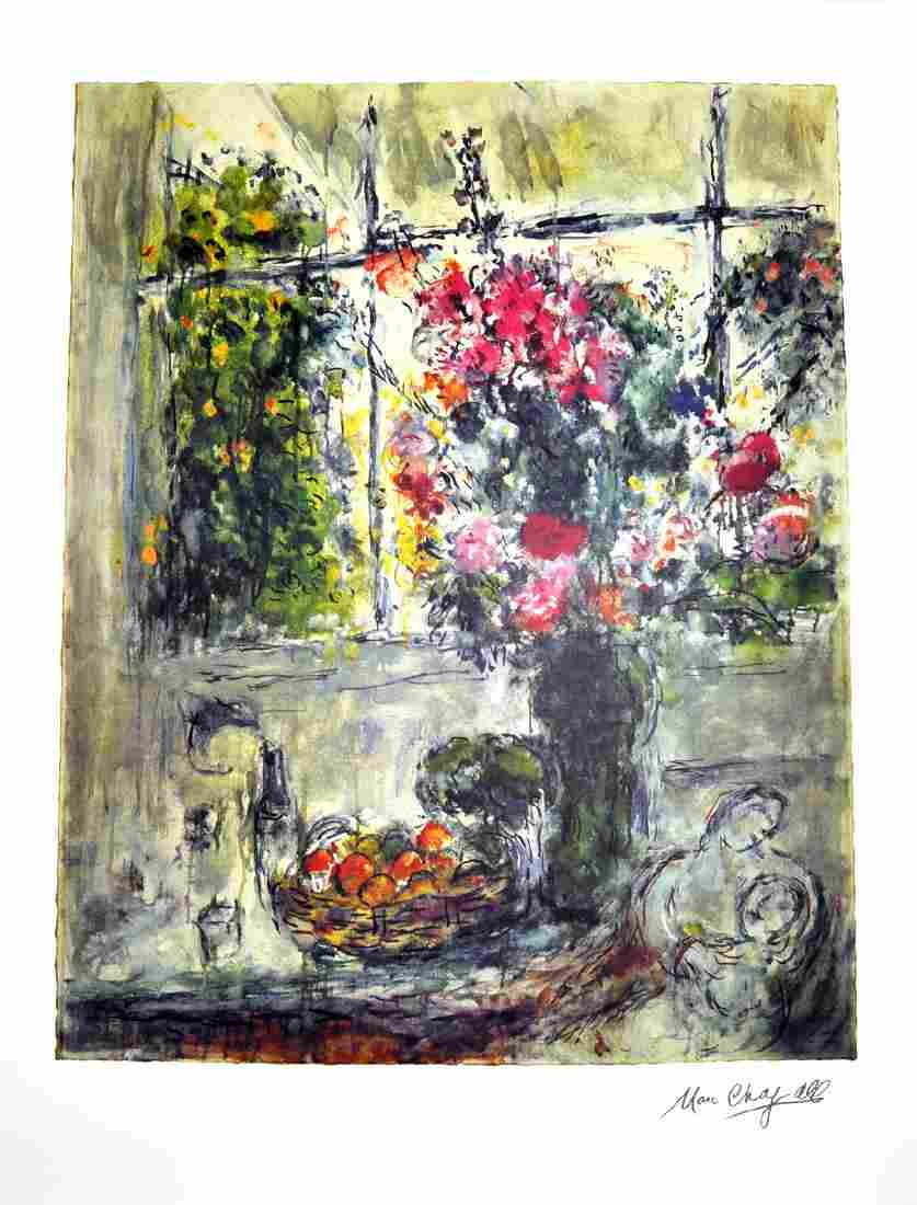 MARC CHAGALL (After) Fruit and Flowers Print, 466 of