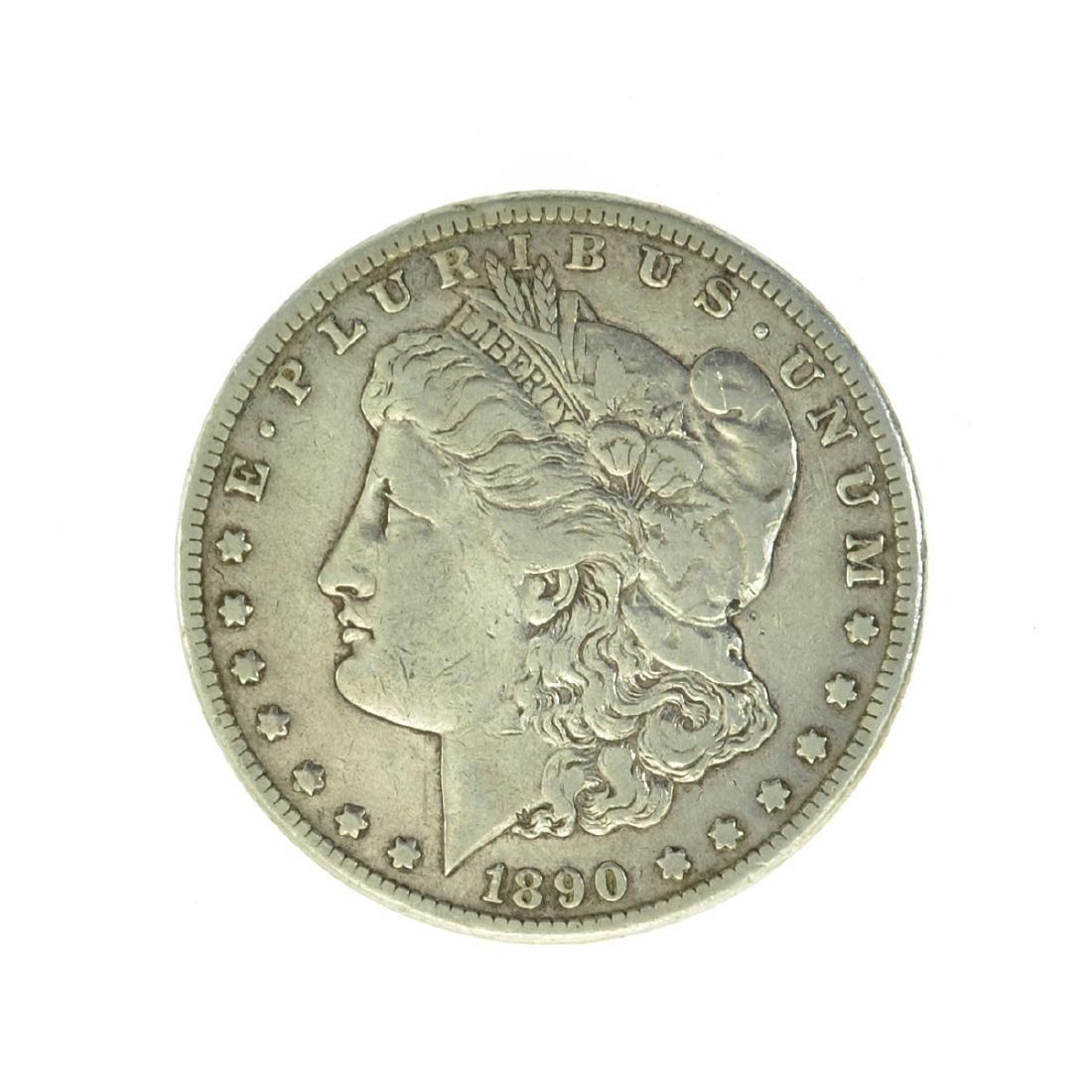 *1890-CC Silver Morgan Dollar Coin (JG)