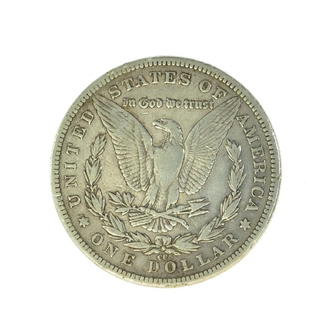 *1890-CC Silver Morgan Dollar Coin (JG) - 2