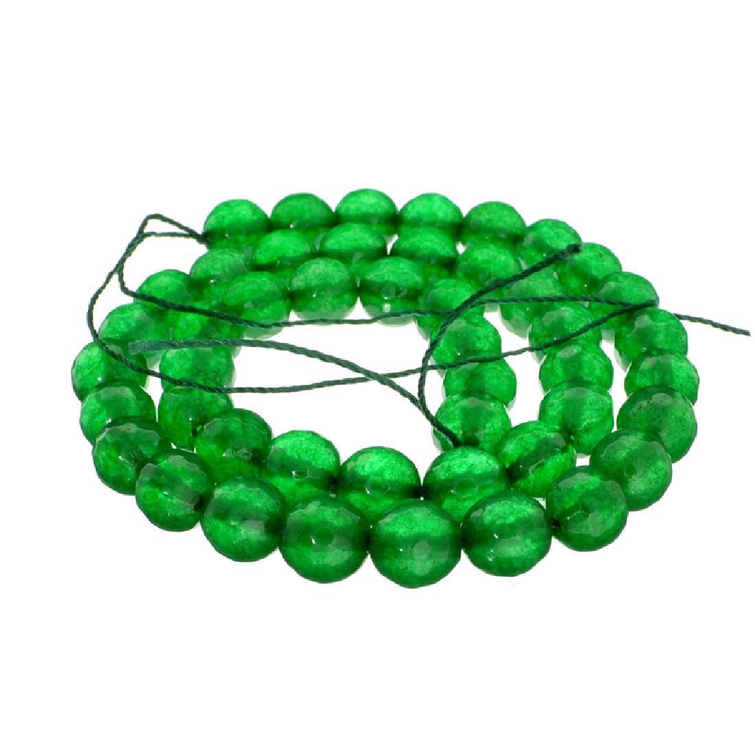 APP: 3.9k 168.00CT Round Cut Green Beryl Emerald Bead