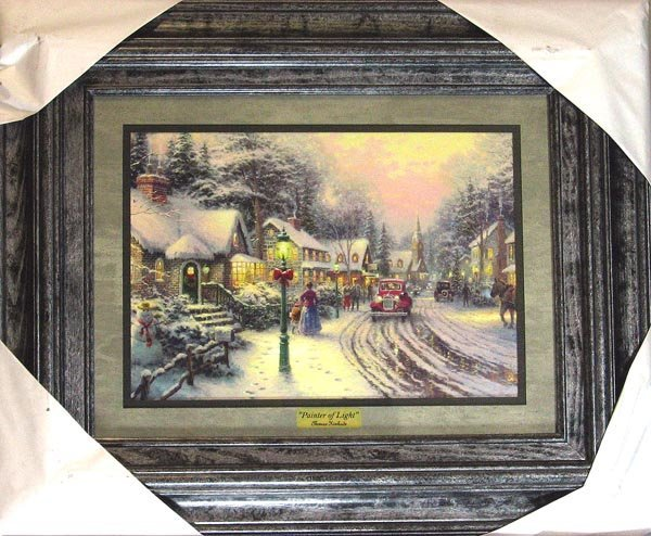 3003: Thomas Kinkade - Large, Museum Framed Calendar Pr