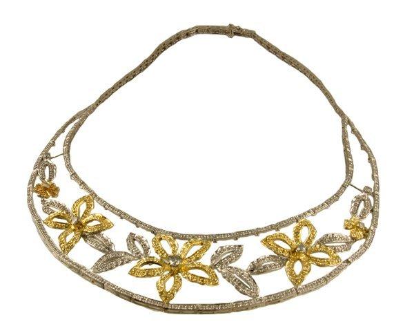 3007: APP.: $17.7K, 5.22CT Diamond Necklace, INVEST!