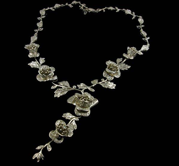 3021: APP.: $19.7K, 4.60CT Diamond Necklace, INVEST!