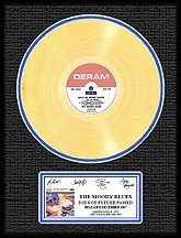 3029: MOODY BLUES ''Days of Future Passed'' Gold LP