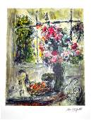 MARC CHAGALL After Fruit and Flowers Print 466 of