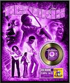 JIMI HENDRIX Purple Haze Gold 45