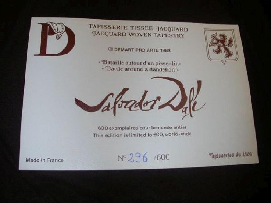 Dali Tapestry - Battle Around a Dandelion - 2