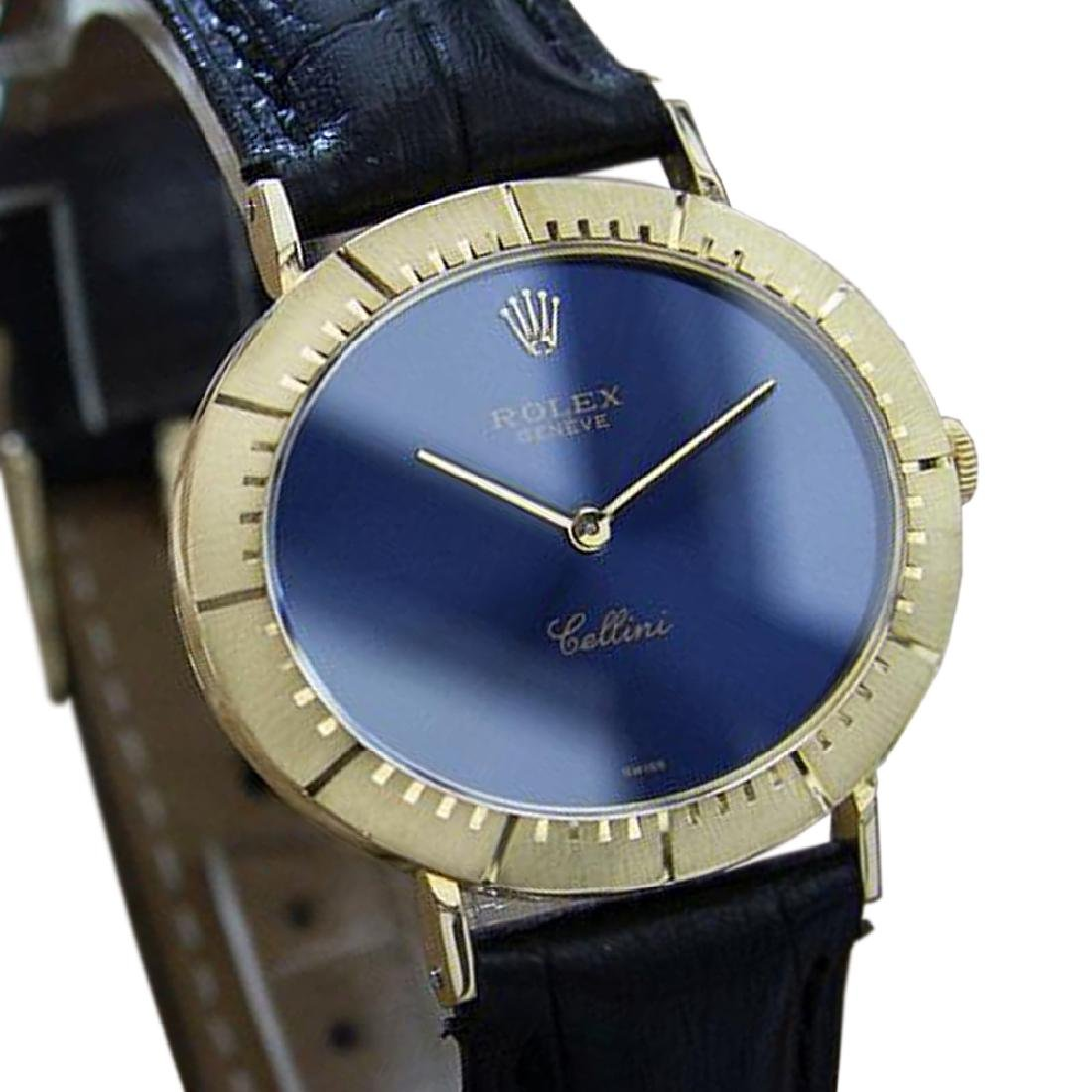 *Rolex Cellini 18k Solid Gold Swiss Made Mens Manual