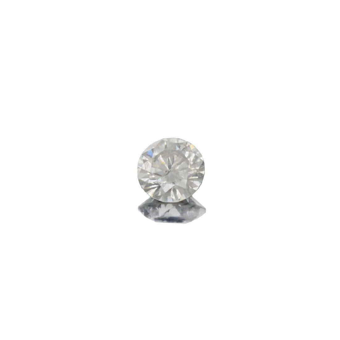 Fine Jewelry GIA Certified 0.18CT Round Brilliant Cut