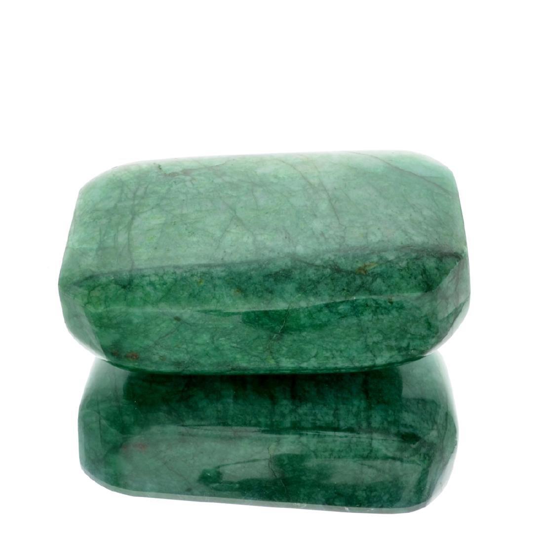APP: 9.4k 2,327.00CT Rectangle Cut Green Beryl Emerald