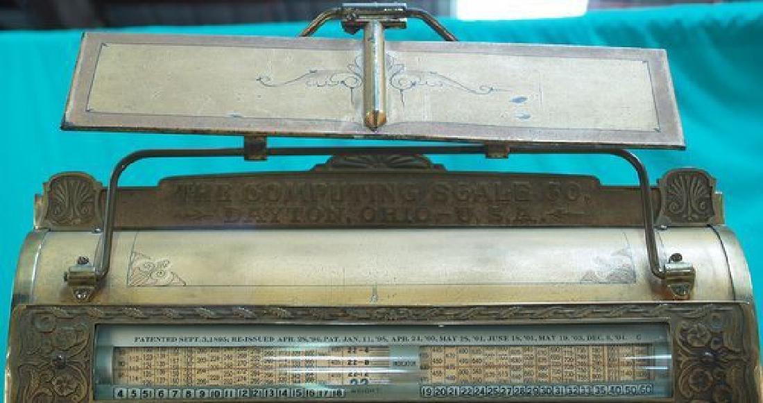 Dayton, Model 144 Barrel Scale w/Mirror -P- - 2