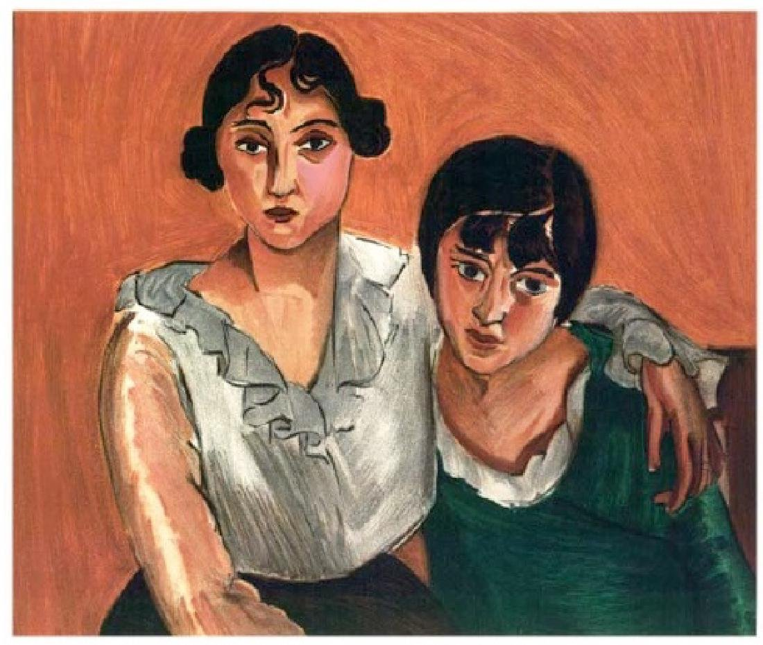 Henri Matisse ''''113 The Two Sisters'''' 18 x 24 Paper