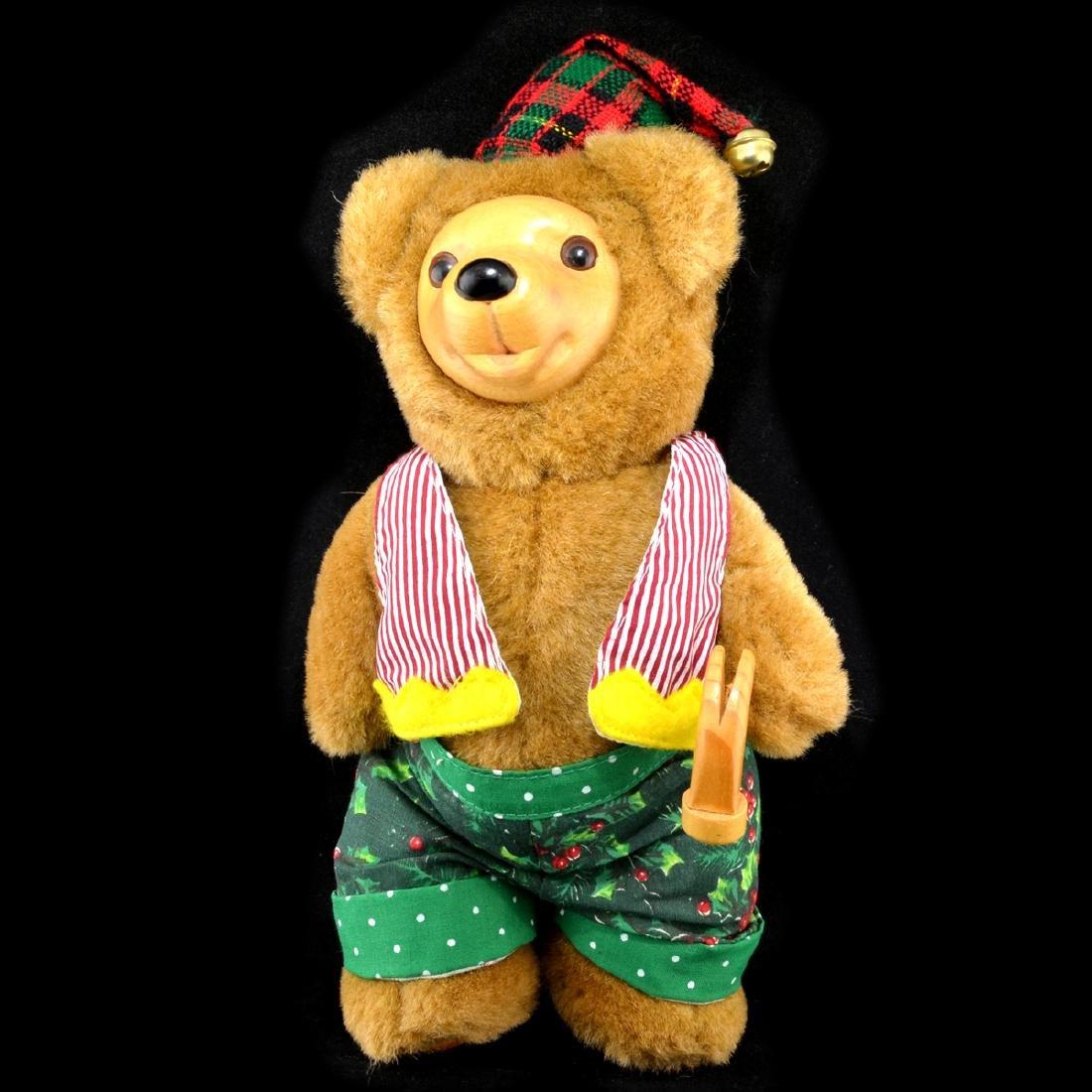 Robert Raikes Christmas Craftsmen Bear Holiday