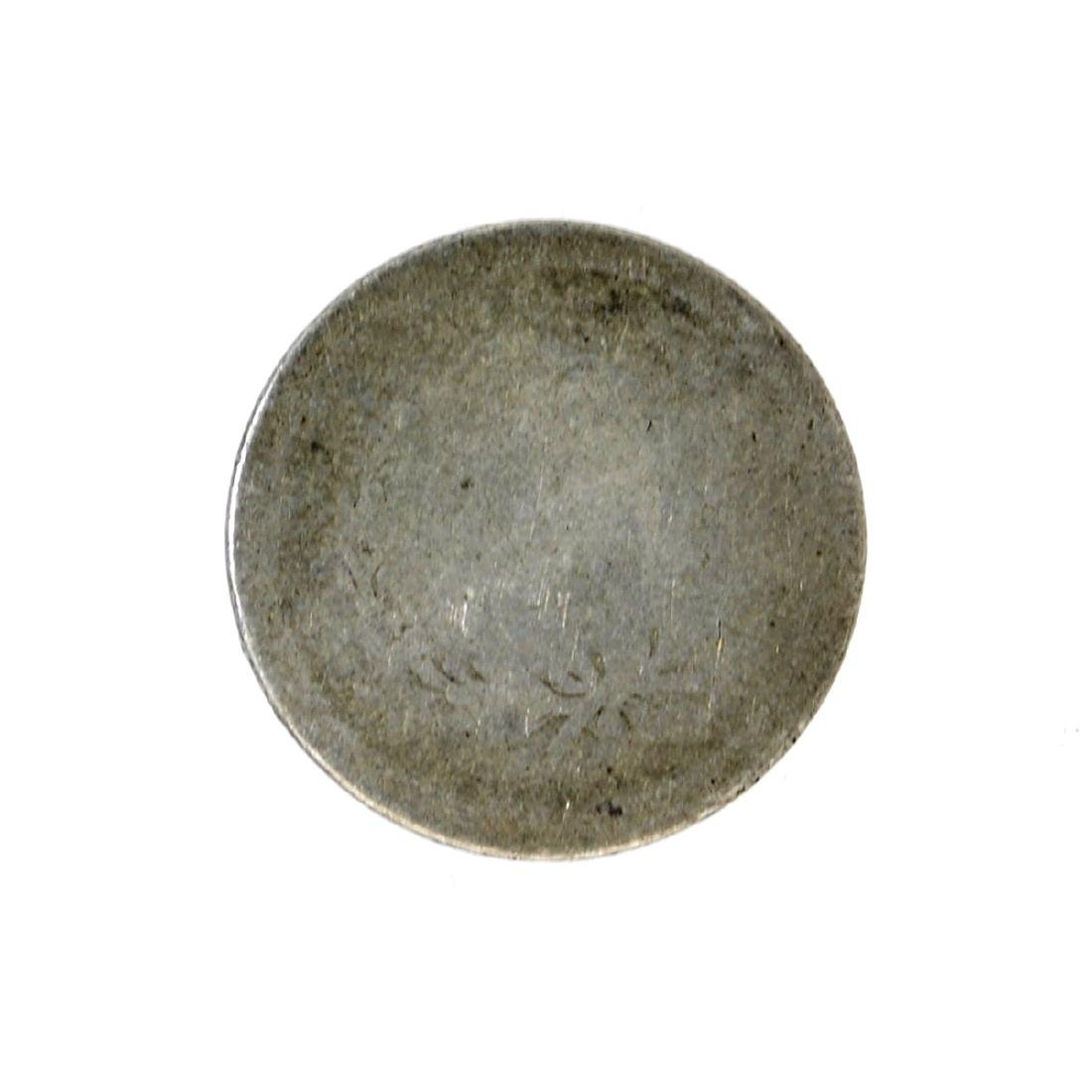 1842 Liberty Seated Dime Coin - 2