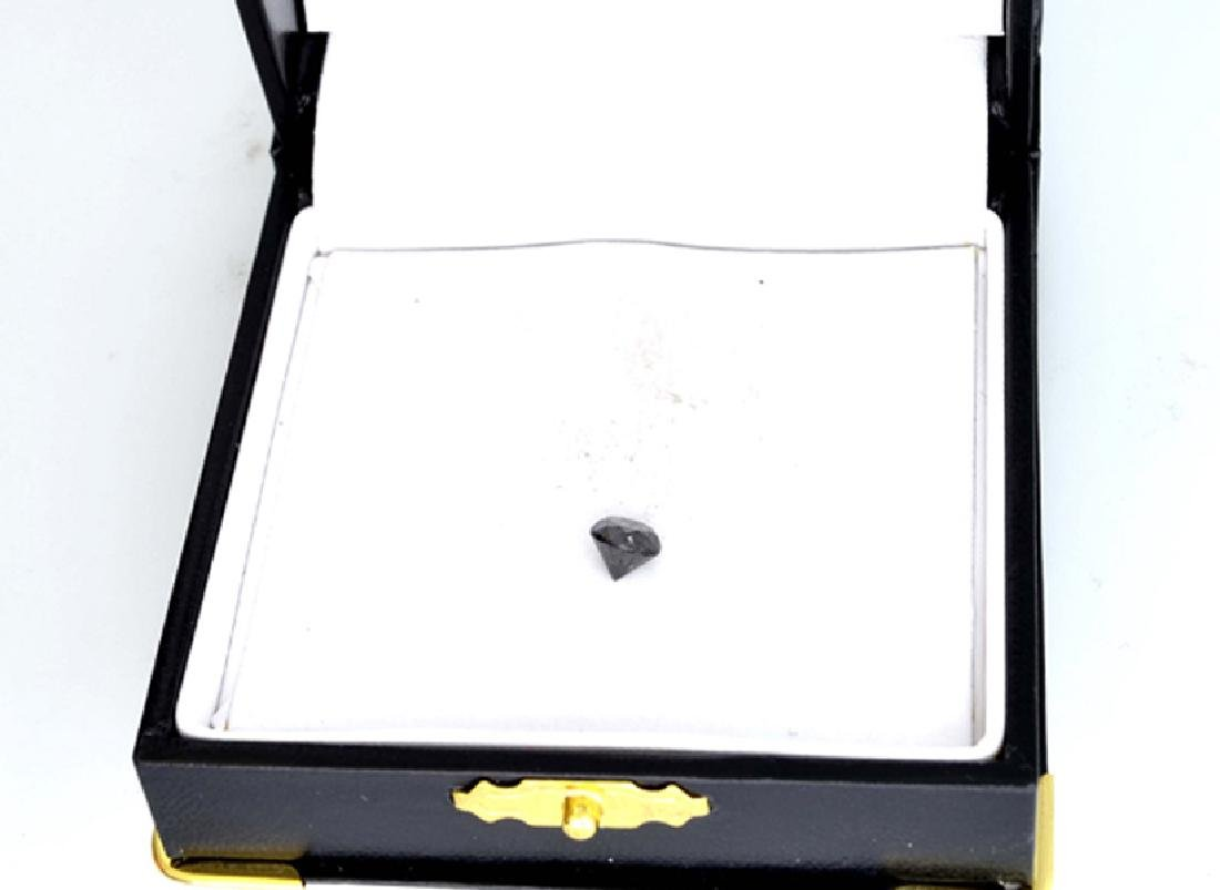 1.15CT Rare Black Diamond Gemstone