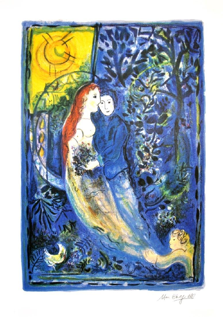 MARC CHAGALL (After) The Wedding Print, I326 of 500
