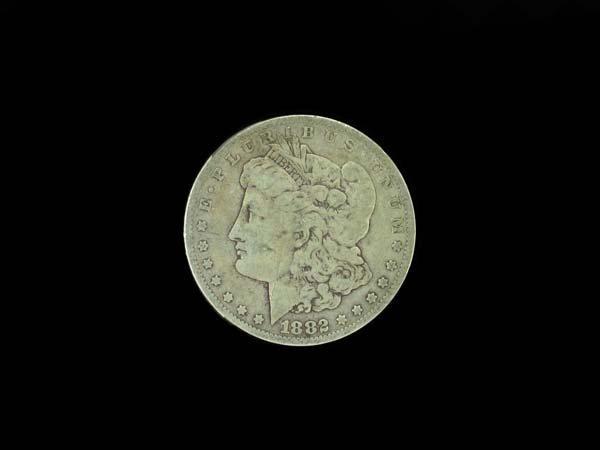 23: 1882 Morgan Silver Dollar Coin, COLLECTORS' ITEM!!