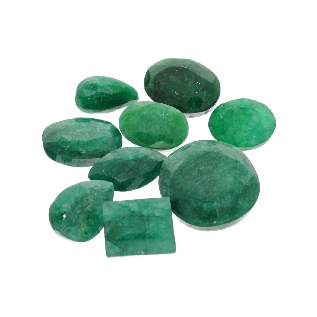 APP: 3.8k 51.09CT Green Emerald Parcel
