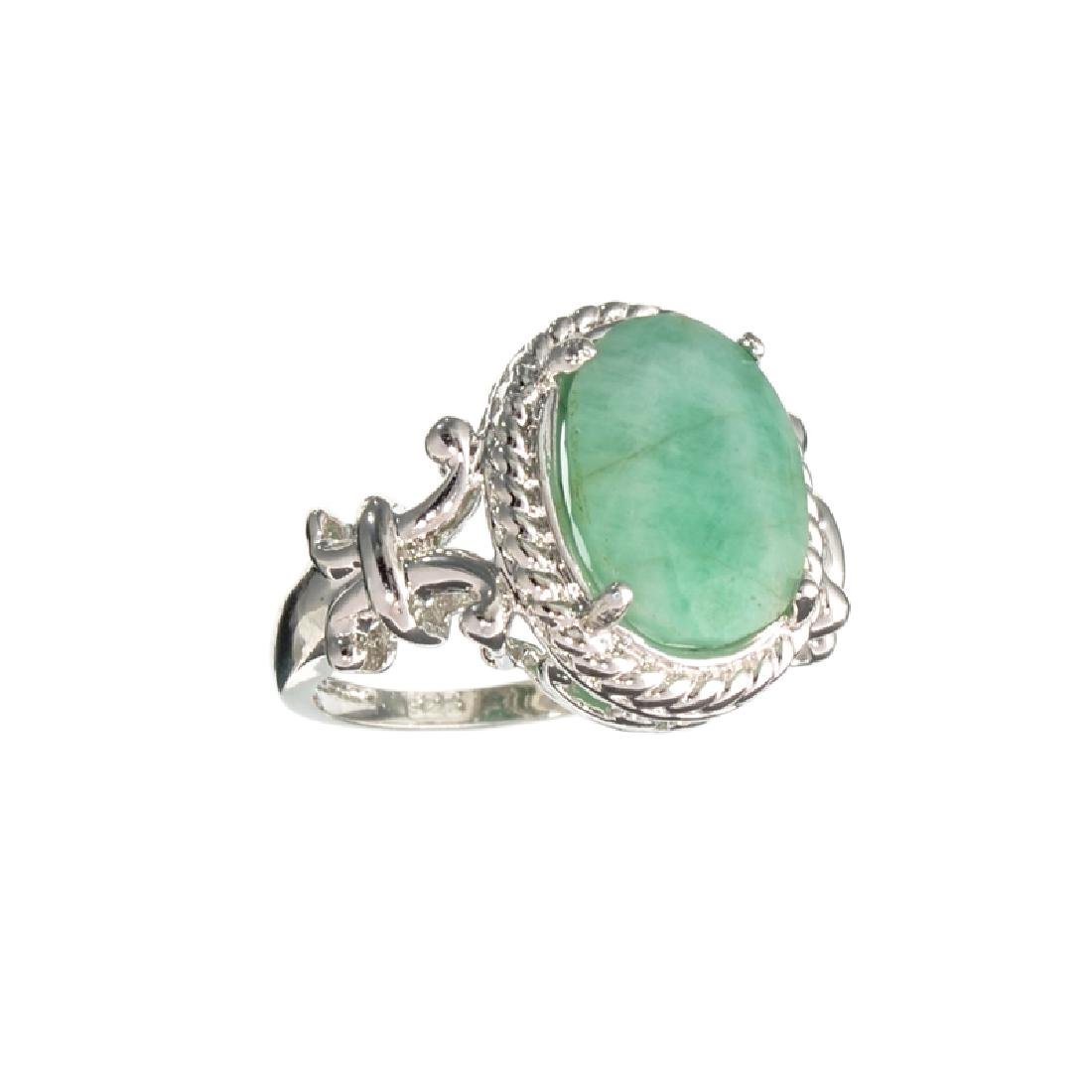 APP: 1.1k Fine Jewelry 3.95CT Green Emerald And