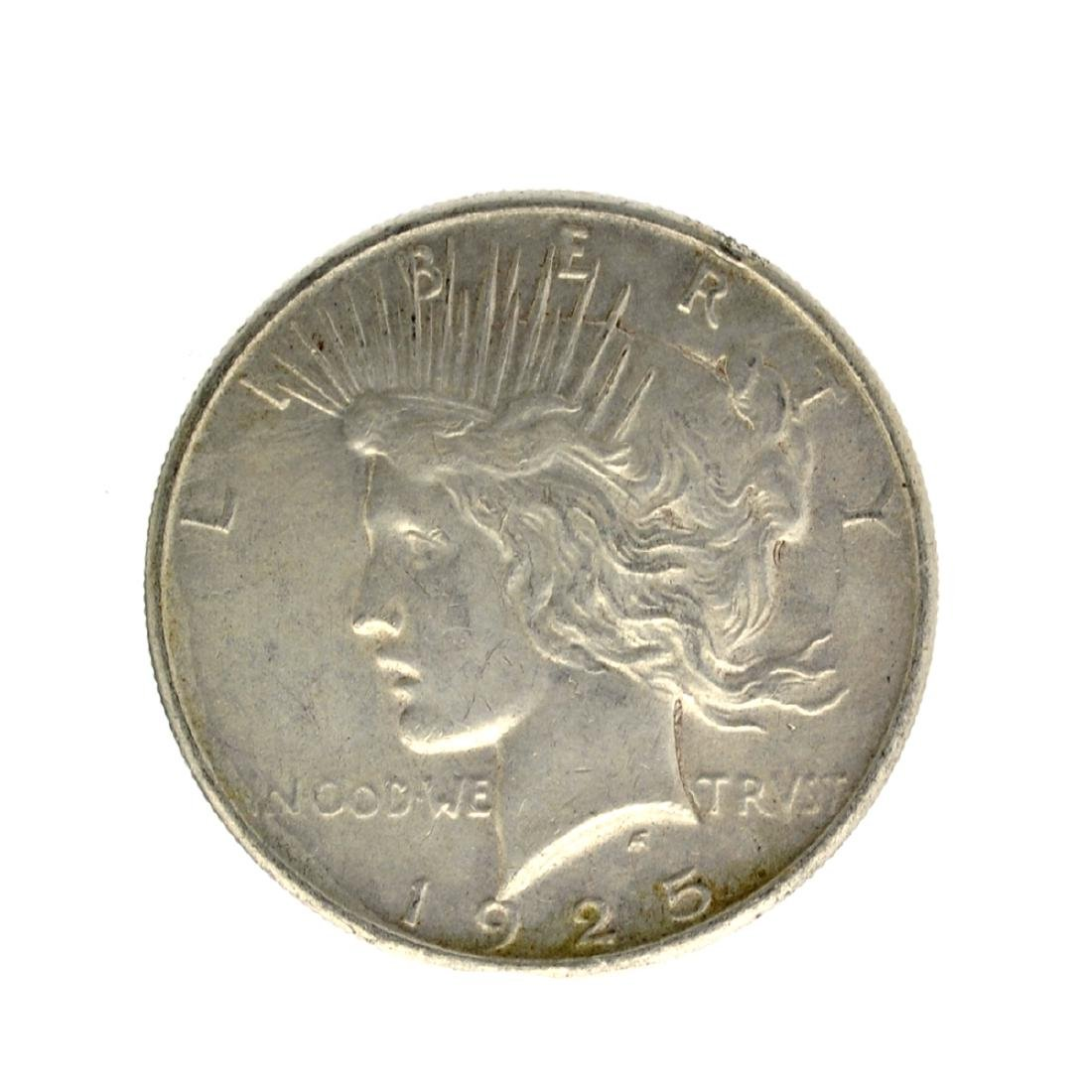 1925 Peace Silver Dollar Coin